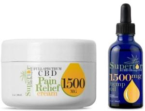 Looking for a range of high-quality CBD Oil or CBD Cream? At Superior CBD Hemp Oil, We offer a variety of superior quality CBD Hemp oil online. Visit your online CBD oil store and Buy Hemp Oil online.