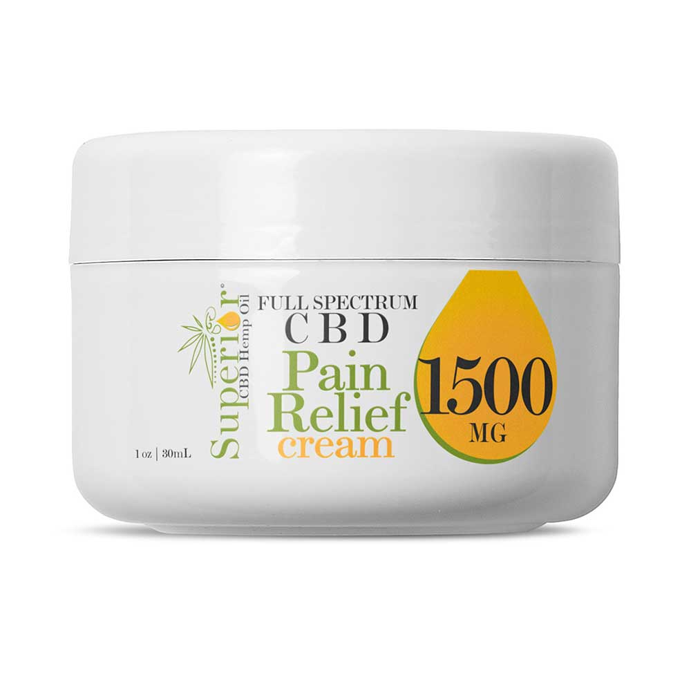 A Jar of CBD hemp cream